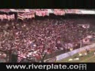 Esta es la banda de River Plate en Avellaneda
