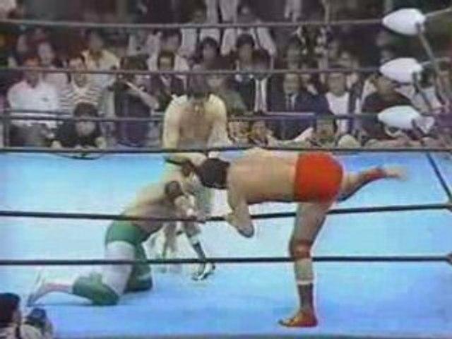 Tsuruta,Taue & Fuchi vs Misawa, Kawada & Kobashi, Part 1.