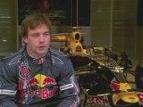 The best WRC driver Sébastien Loeb in Red Bull Racing F1 car
