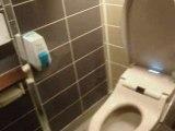 WC Japonais d'un restaurant