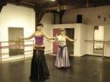 leyla Aidara chorégraphie danse orientale niveau débutant