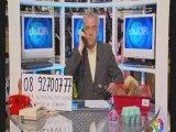 Passage TV chez Jacky par tél au JJDA sur IDF1