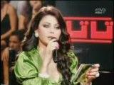 Haifa Wehbe (Taratata 2008) - Haifa Sings Khayna (Part 6)