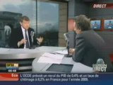 Vincent Peillon invité de Bourdin Direct sur RMC/BFM TV le26/11/08