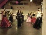 choré de danse orientale de leyla aidara cours moyen 2