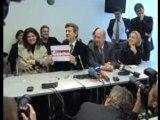 Conférence de presse sur le Parti de Gauche 2008/11