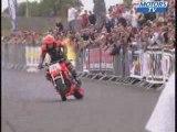 demo stunt flamme moto au stunt bike show 2007