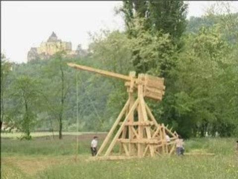 Les machines de guerre au Château de Castelnaud