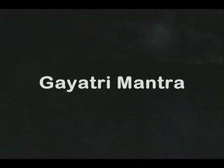 Gayatri Mantra — Sanskrit Chant