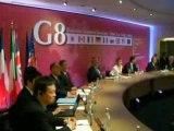 Ouverture du G8 patronal - Business Leaders Meeting