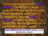 Free Classic Pralines Recipe - New Orleans Pralines Recipe