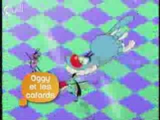 Oggy et les Cafards sur Gulli - Ba 2008
