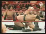 catch cm punk vs randy orton match des bûcherons