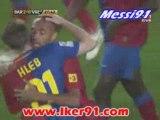 FC BARCELONE -  FC VALENCE 2-0 BUT DE HENRY