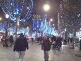 Éclairages des Champs Élysées 2008
