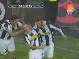 Punizione di Giovinco, Lecce-Juve 0-1