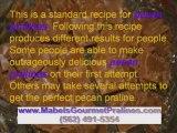 Long Beach Gourmet Pralines maker shares pralines recipe
