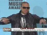 Chris Brown wins Artist of the Year  American Music Awards