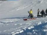 Kayak sur neige