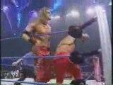 Edge & Rey Mysterio VS Kurt Angle & Chris Benoit part 1