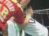 NJPW - The Great Muta vs The Great Nita No Ropes Barbed Wire