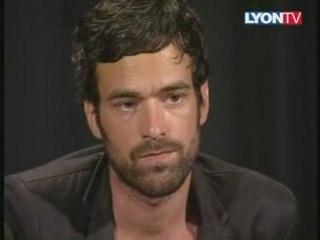 Romain Duris sur Lyon TV (2T3M)