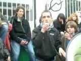 Blocus lycée F. Mistral Avignon - Mardi 9 Décembre 2008 [ 2e