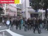 Tarbes manifestation contre la réforme Darcos