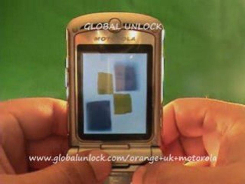 Unlock Orange UK Motorola Phones by Code - GLOBALUNLOCK COM