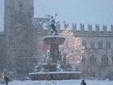 Trento sotto la neve