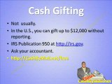 Cash Gifting Videos, Are The Cash Gifts Taxable?