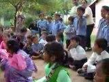Rabgayling 2006 : Frère Jacques chanté par les enfants