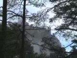 rando chateaux cathares decembre 2008 avec nissan cahors