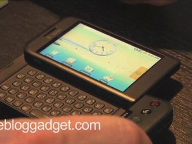 G1 Google Phone - Le test