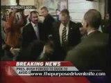 Shoes Thrown at President Bush