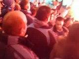 Lyon om (parcage om) entrée des joueurs +fumi