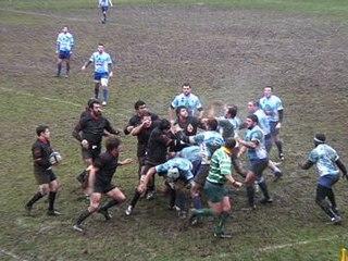 Rugby et bagarre Boulogne 9 5 Strasbourg