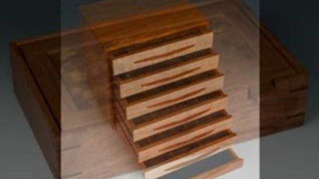 Handmade Jewelry Boxes:  Wooden