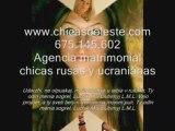 Agencia matrimonial chicas rusas  www.chicasdeleste.com