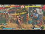 Street Fighter 4 : Chun-Li vs Balrog