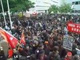 Nantes : 5000 lycéens battent le pavé contre Darcos