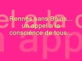 Bains forts de Rennes les Bains fermées !