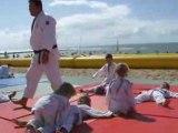 judo sur la plage st hilaire de riez