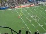 Touchdown? Non!