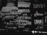 """Manifesto de Charles Sandison, """"dans la nuit des images, Grand Palais"""