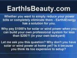 Solar Water Video Energy for Our Beautiful Earth Power