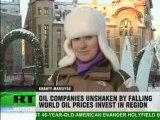 Key oil region powers through global crisis