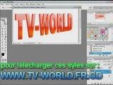 tutorial photoshop effet de texte 3D