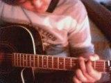 Cocoon - On My Way a la guitare par moi