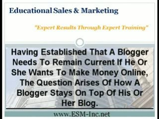 Educational Sales And Marketing | Gathering Blog Content